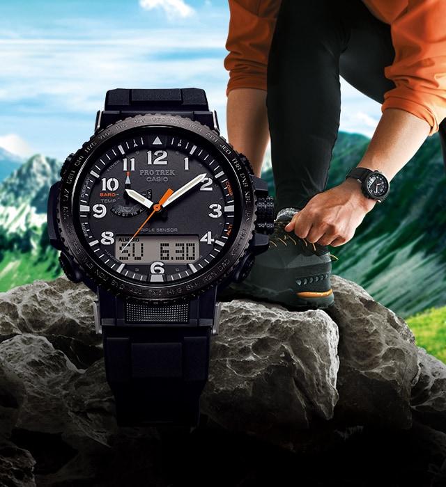 7f800dcaf4 本格アウトドアギア PRO TREK(プロトレック) - 腕時計 - CASIO